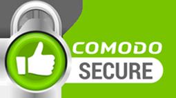 comodo secure logo green